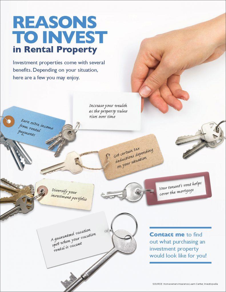 Benefits of investing in rental properties.