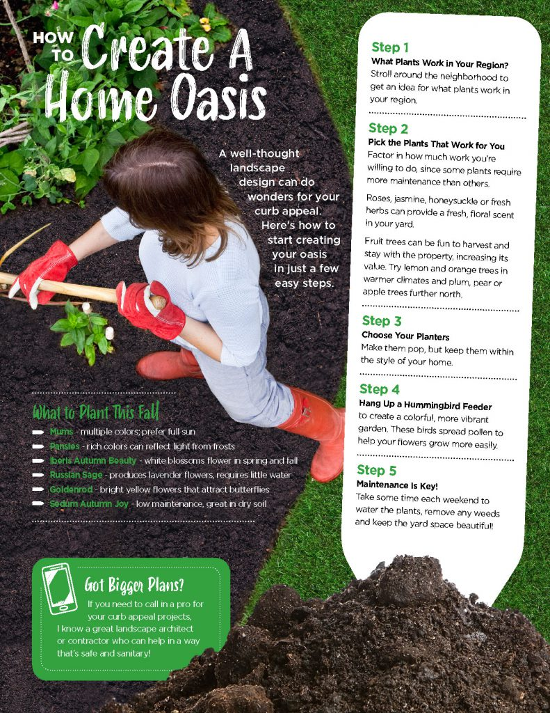 Tips for how to create a home oasis